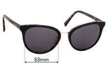 Sunglass Fix Replacement Lenses for Carla Zampatti C Zampatti 14 - 53mm Wide