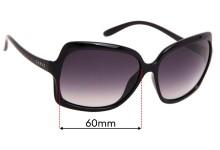 Sunglass Fix Replacement Lenses for Carve Grace - 60mm Wide