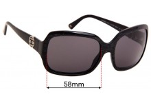 Chanel 5147 Replacement Sunglass Lenses - 58mm Wide