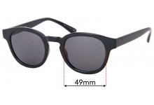 Sunglass Fix Replacement Lenses for Childe Errol - 49mm wide