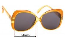 Christian Dior 2241Replacement Sunglass Lenses - 54mm Wide