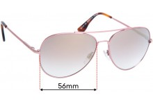 Sunglass Fix Replacement Lenses for Country Road CR Sun Rx 25 - 56mm Wide