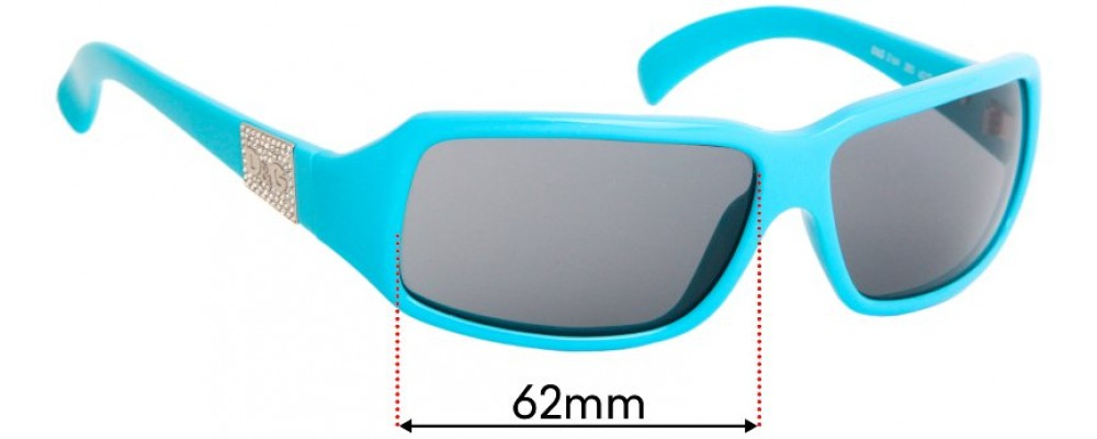 Sunglass Fix Replacement Lenses for Dolce & Gabbana DG2164 - 62mm wide