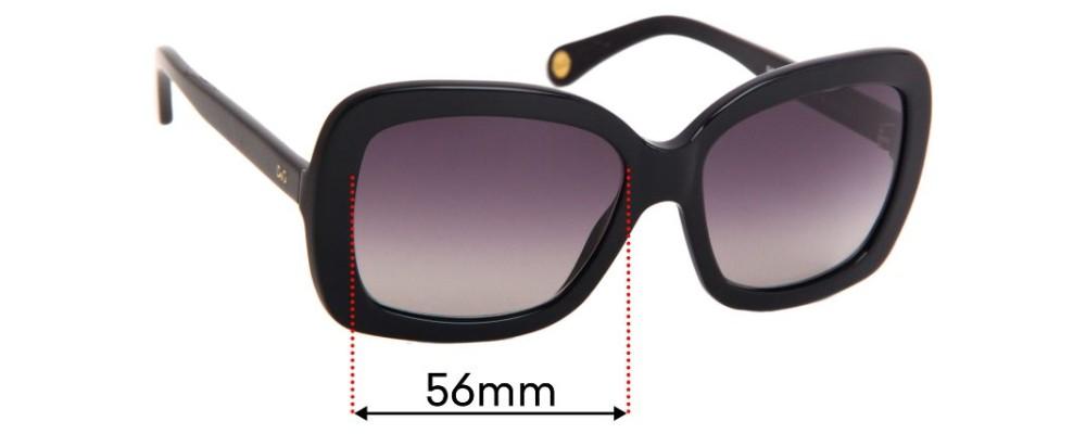 Sunglass Fix Replacement Lenses for Dolce & Gabbana DG 3047 - 56mm wide