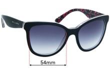 Dolce & Gabbana DG4190 Replacement Sunglass Lenses - 54mm wide