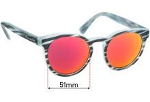 Sunglass Fix Replacement Lenses for Dolce & Gabbana DG4285 - 51mm wide