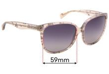 Sunglass Fix Replacement Lenses for Dolce & Gabbana DD3090 - 59mm wide