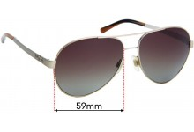 Sunglass Fix Replacement Lenses for Dolce & Gabbana DG2095 Madonna - 59mm wide