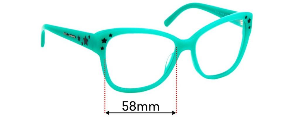 Sunglass Fix Replacement Lenses for Dolce & Gabbana DG4124 - 58mm wide