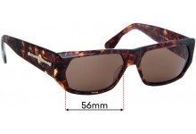 Florence Design Linea Pitti MOD 409 Replacement Sunglass Lenses - 56mm wide