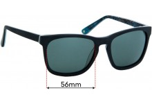 Fred Hollows FH Sun Rx 03 Replacement Sunglass Lenses - 56mm wide