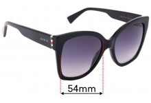 Sunglass Fix Replacement Lenses for Gucci GG0459S - 54mm Wide