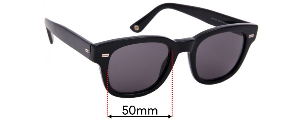 Sunglass Fix Replacement Lenses for Gucci GG 1079/S - 50mm Wide