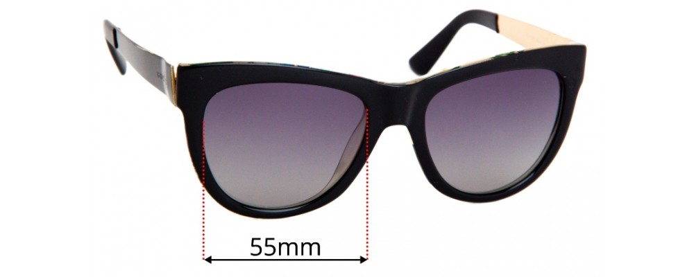 Gucci GG 3739/s Replacement Lenses 55mm
