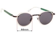 Jacquemus Le Meunier Replacement Sunglass Lenses - 44mm Wide