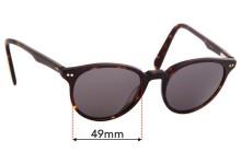 Sunglass Fix Replacement Lenses for Kylie Minogue Sun Rx 01 - 49mm Wide