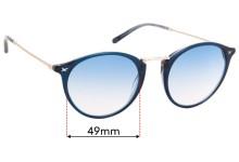 Mauboussin Artiste Joaillier Replacement Sunglass Lenses - 49mm Wide
