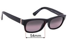 Sunglass Fix Replacement Lenses for Maui Jim Dive Deep MJ242 - 54mm wide
