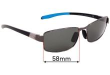 Sunglass Fix Replacement Lenses for Maui Jim MJ707 Kona Winds - 58mm Wide