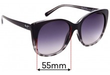 Sunglass Fix Replacement Lenses for Maui Jim MJ794 Mele - 55mm Wide
