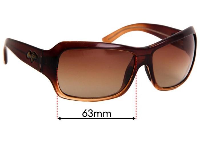 Fuse Lenses Fuse Plus Replacement Lenses for Maui Jim Venus Pools MJ100