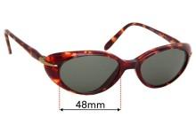 Sunglass Fix Replacement Lenses for Maui Jim MJ147 Cabana - 48mm wide