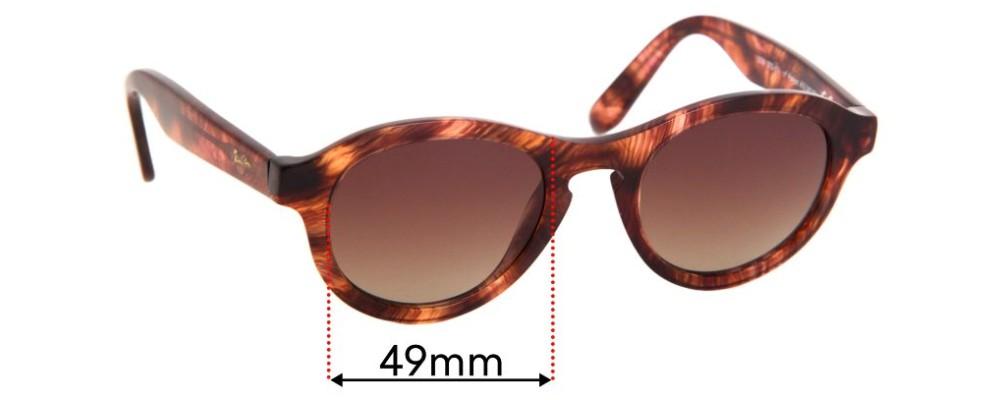 Maui Jim Leia MJ708 Replacement Sunglass Lenses - 49mm wide