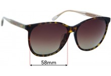 Maui Jim MJ821 Isola Replacement Sunglass Lenses - 58mm Wide