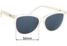 Maui Jim MJ833 Glory Glory Replacement Sunglass Lenses - 56mm wide