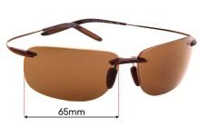 Maui Jim Olowalu 508 Replacement Lenses 65mm