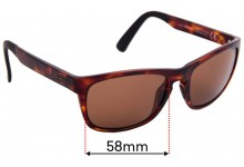 Sunglass Fix Replacement Lenses for Maui Jim South Swell MJ755 - 58mm Wide