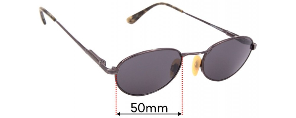 Sunglass Fix Replacement Lenses for Maui Jim Trade Wind MJ164 - 50mm Wide