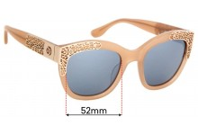 Sunglass Fix Replacement Lenses for Mimco Seeker - 52mm