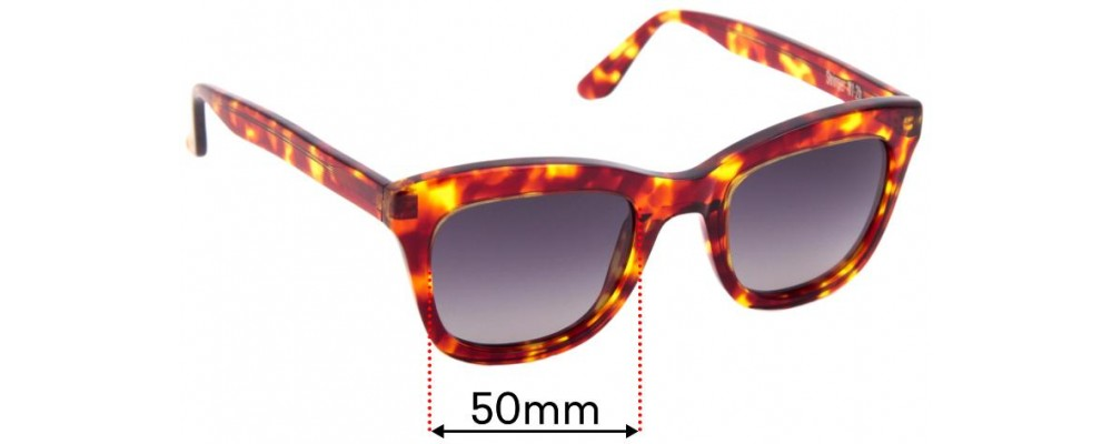 Sunglass Fix Replacement Lenses for Nick Campbell Stringer - 50mm wide