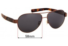 Sunglass Fix Replacement Lenses for Nike NSW Sun Rx 04 - 58mm wide