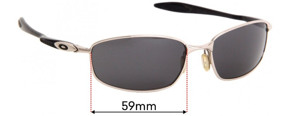 Sunglass Fix Replacement Lenses for Oakley Blender OO4059 - 59mm wide