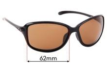 Oakley Cohort OO9301 Replacement Sunglass Lenses - 62mm wide
