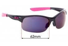 Oakley Commit and Commit SQ Replacement Sunglass Lenses - 62mm Wide