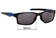 Sunglass Fix Replacement Lenses for Oakley Crosslink OX8090 - 55mm wide