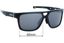 Sunglass Fix Replacement Lenses for Oakley Crossrange OO9391 - 60mm wide