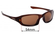 Oakley Fives 4.0 Replacement Lenses - 54mm Wide