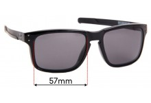 Sunglass Fix Replacement Lenses for Oakley Holbrook Mix OO9384 - 57mm Wide