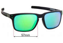 Sunglass Fix Replacement Lenses for Holbrook Mix OO9385 (Asian Fit) - 57mm Wide