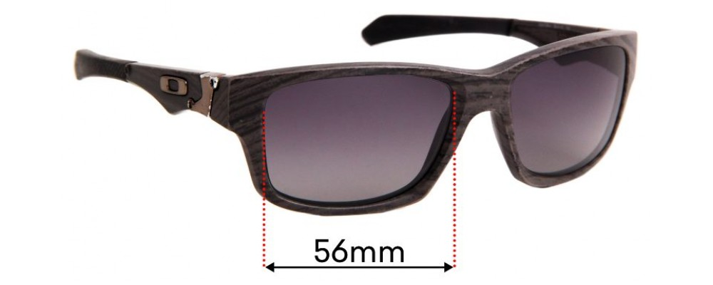 Oakley Jupiter Squared Replacement Sunglass Lenses - 56mm wide