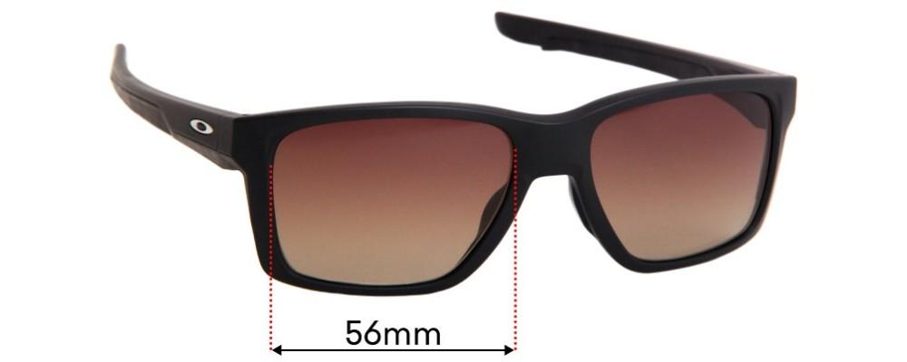 Oakley Mainlink OX8128 Replacement Sunglass Lenses - 56mm Wide