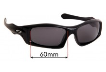 Oakley Monster Pup Replacement Sunglass Lenses - 60mm Wide