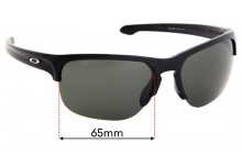 Sunglass Fix Replacement Lenses for Oakley Sliver Edge OO9413 - 65mm Wide