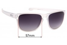 Oakley Sliver R OO9342 Replacement Sunglass Lenses - 57mm Wide