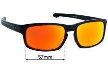 Oakley Sliver Stealth OO9409 Replacement Sunglass Lenses - 57mm Wide