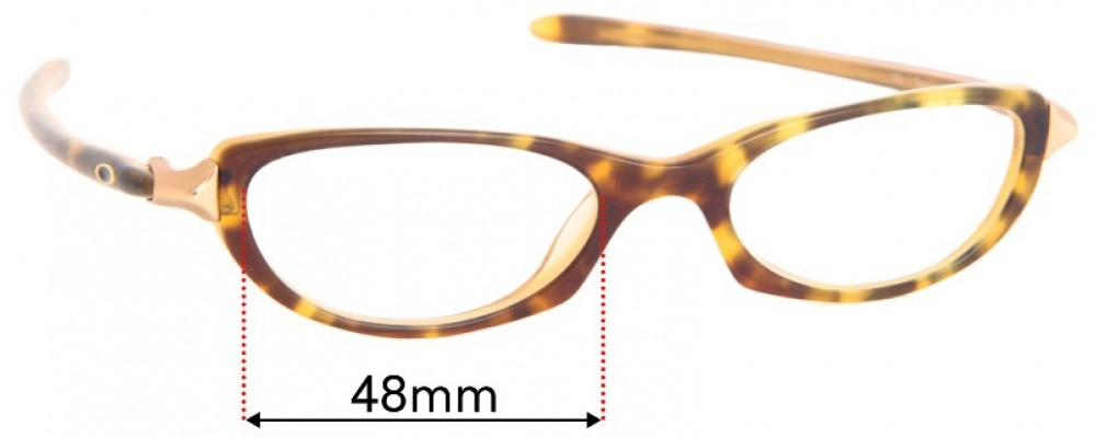 Oakley Tangent Replacement Sunglass Lenses - 48mm Wide